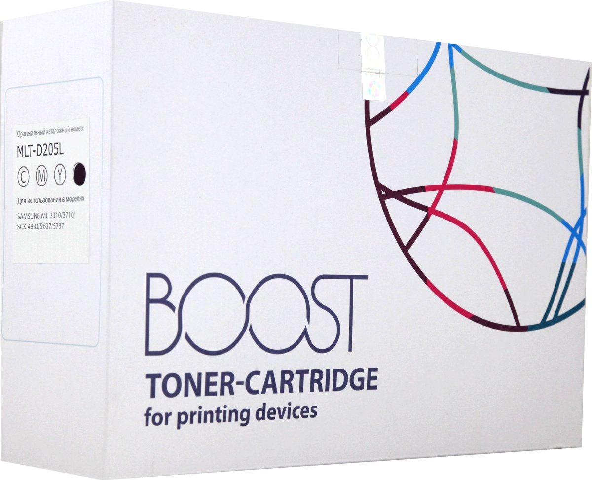 Boost MLT-D205L, Черный тонер-картридж для Samsung ML-3310D/ML-3310ND/ML-3710D/ML-3710ND/SCX-5637FR/SCX4833 скачать драйвер samsung ml