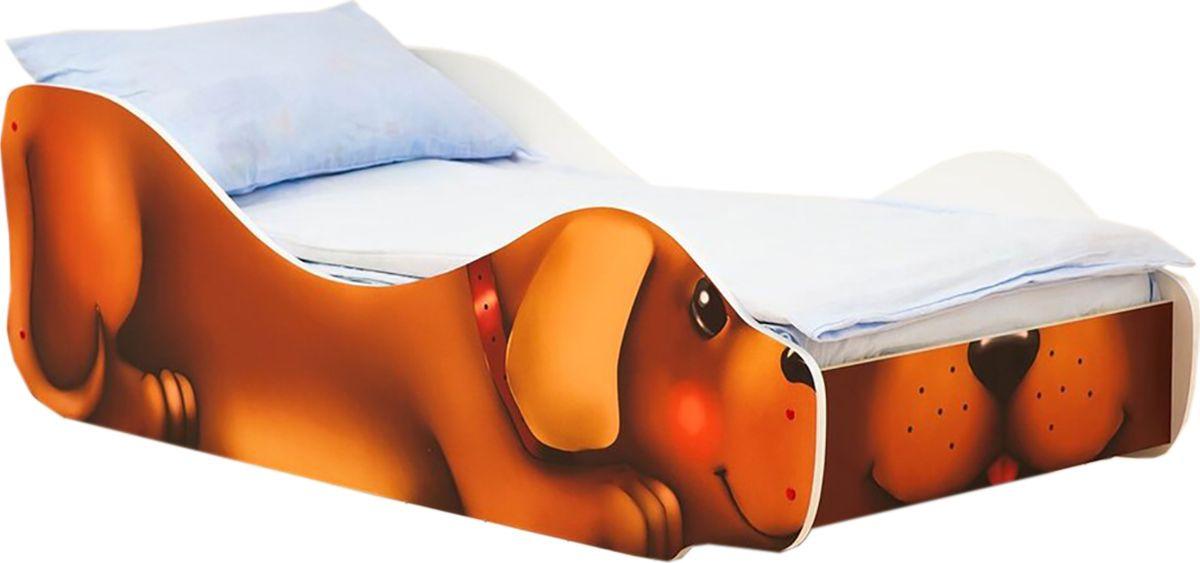 """Кровать детская Бельмарко """"Собачка Жучка"""", 30374, коричневый"""