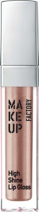 Блеск для губ Make Up Factory High Shine Lip Gloss, с эффектом влажных губ, тон №14, 6,5 мл недорго, оригинальная цена