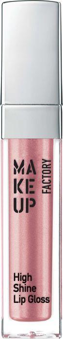 Блеск для губ Make Up Factory High Shine Lip Gloss, с эффектом влажных губ, тон №20, 6,5 мл недорго, оригинальная цена