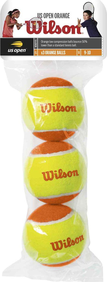 "Мячи теннисные Wilson ""Starter Orange"", 3 шт"