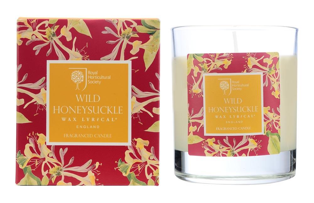 Свеча ароматическая Wax Lyrical Дикая жимолость, 42 часа горения