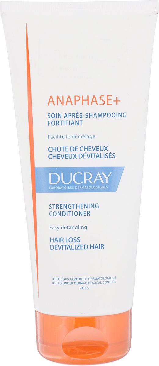 Ducray Анафаз+ Укрепляющий кондиционер для ухода за ослабленными выпадающими волосами, 200 мл ducray анафаз укрепляющий кондиционер для ухода за ослабленными выпадающими волосами 200 мл