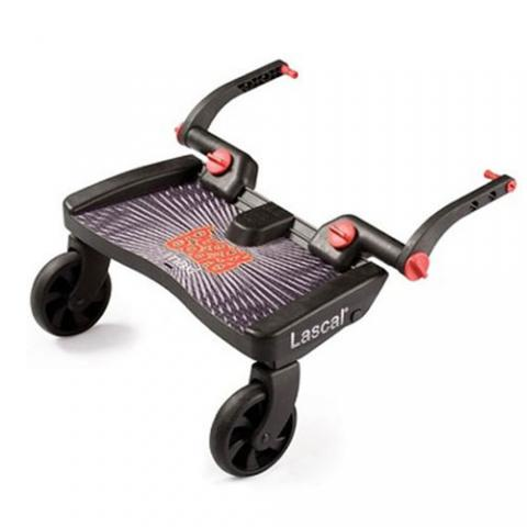 Lascal Подножка Buggy Board Maxi к коляске черная подножка lascal ласкал для второго ребенка buggy board maxi panda city green 2761