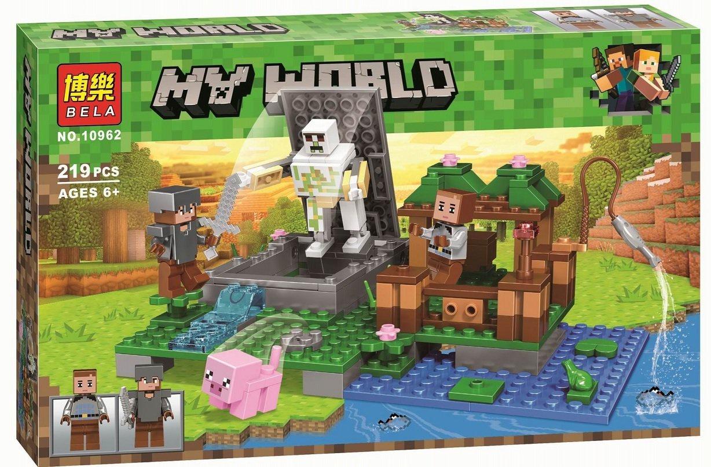 """Конструктор Bela 10962 Minecraft """"Голем на ферме"""""""