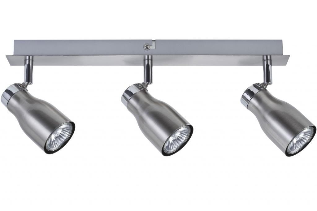 Светильник Спот настенно-потолочный Tinka 3x50W GU10 230V никель крацеванный