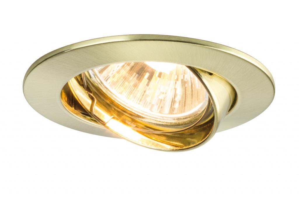 Встраиваемый светильник Prem EBL schwb 3x35 51mm Mes/geb Alu Zk светильник donolux sa1541 sa1543 alu