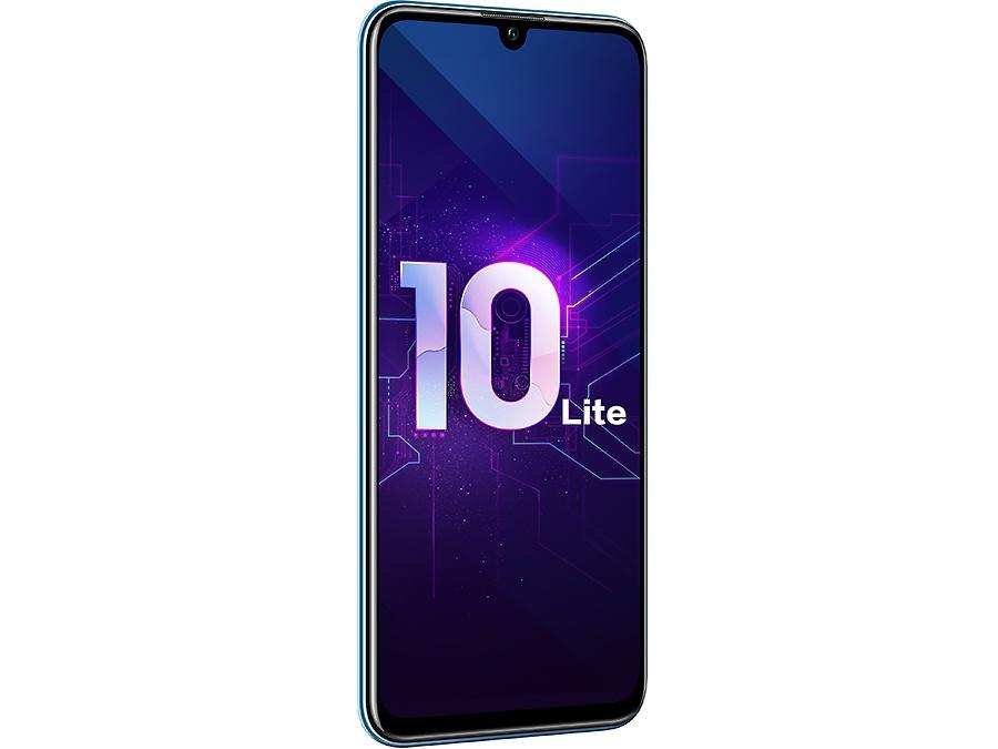 Смартфон Huawei Honor 10 Lite 32GB Sky Blue 64 GB, голубой