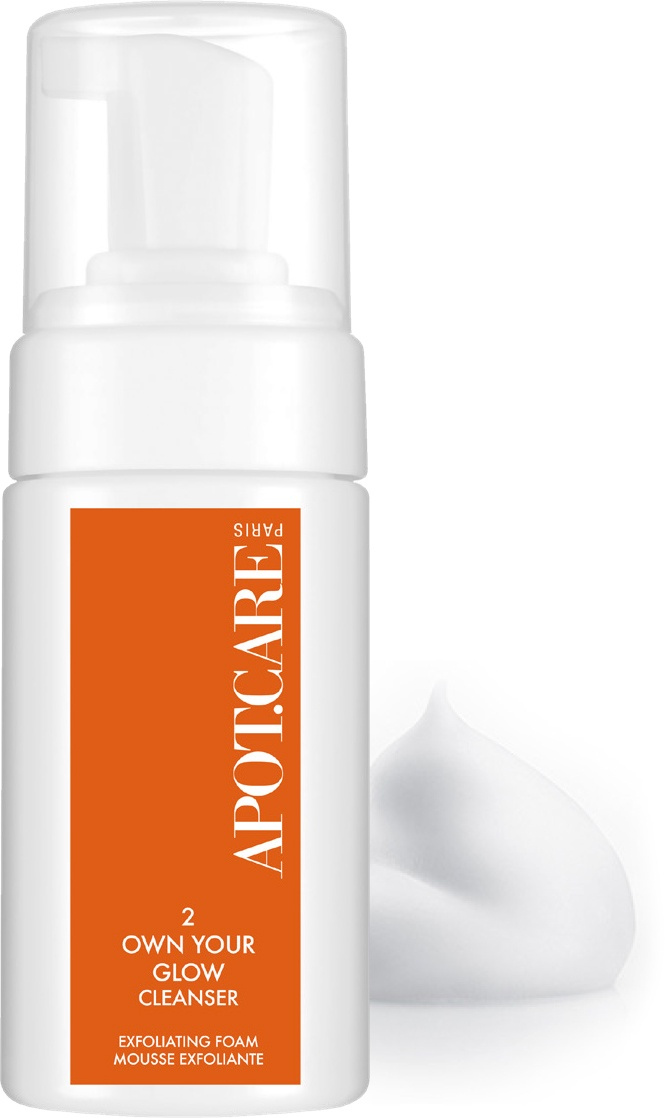Мусс эксфолиант APOT.CARE OWN YOUR GLOW CLEANSER
