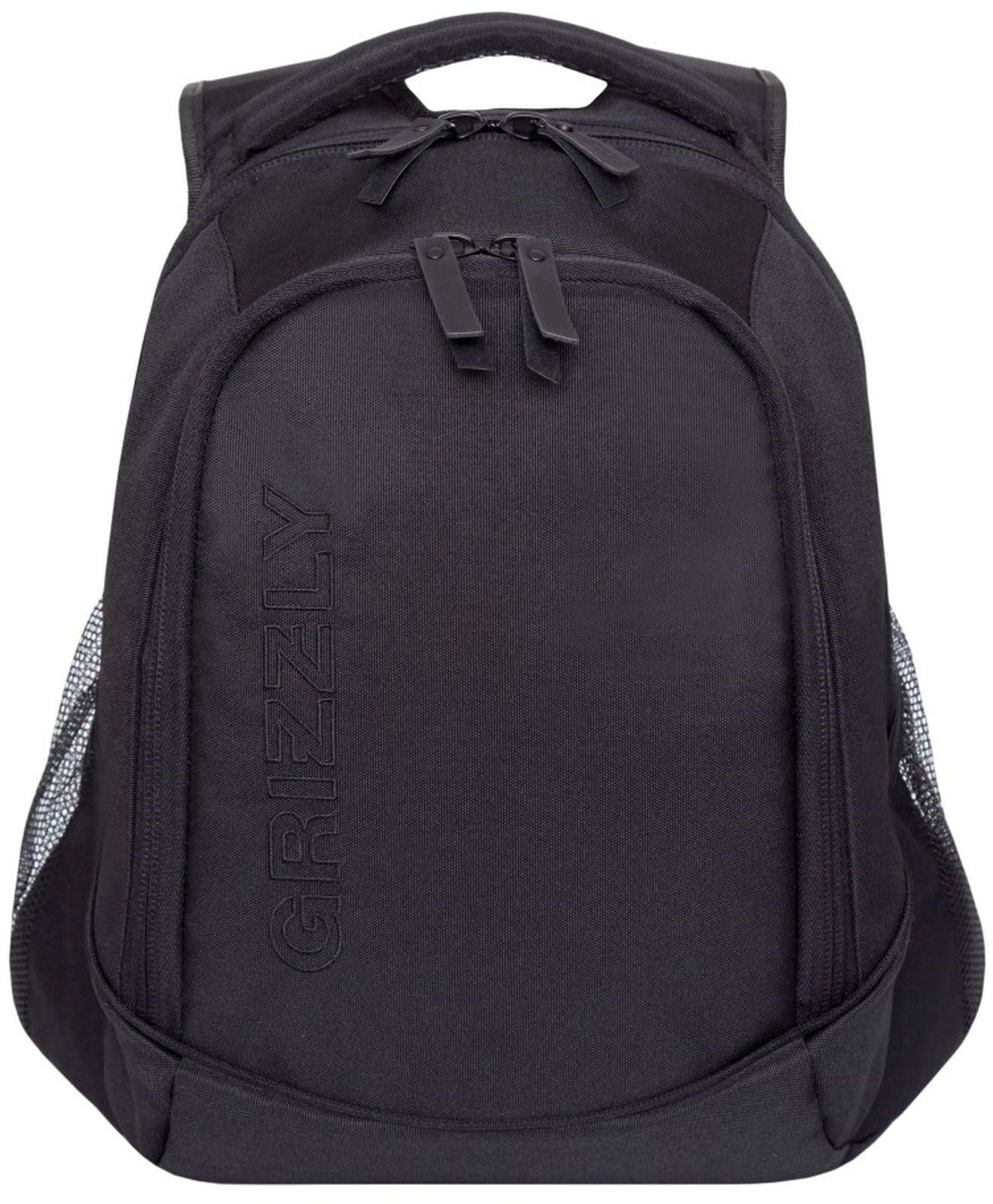 Рюкзак Grizzly, RU-928-2/3, черный рюкзак молодежный grizzly 16 л ru 808 2 2