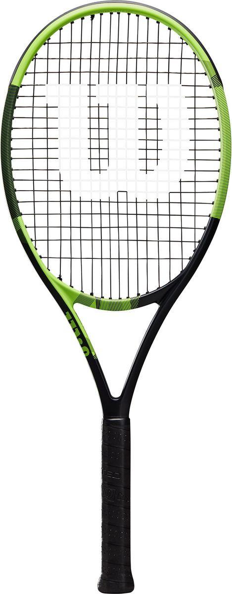 Ракетка для тенниса Wilson Blx Bold Rkt W/O Cvr 3, WRT56800U3, черный, зеленый