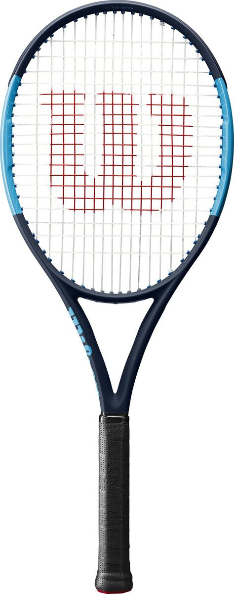 Ракетка для большого тенниса Wilson Ultra 100L Tns Frm W/O Cvr 2, WRT73741U2, синий, черный
