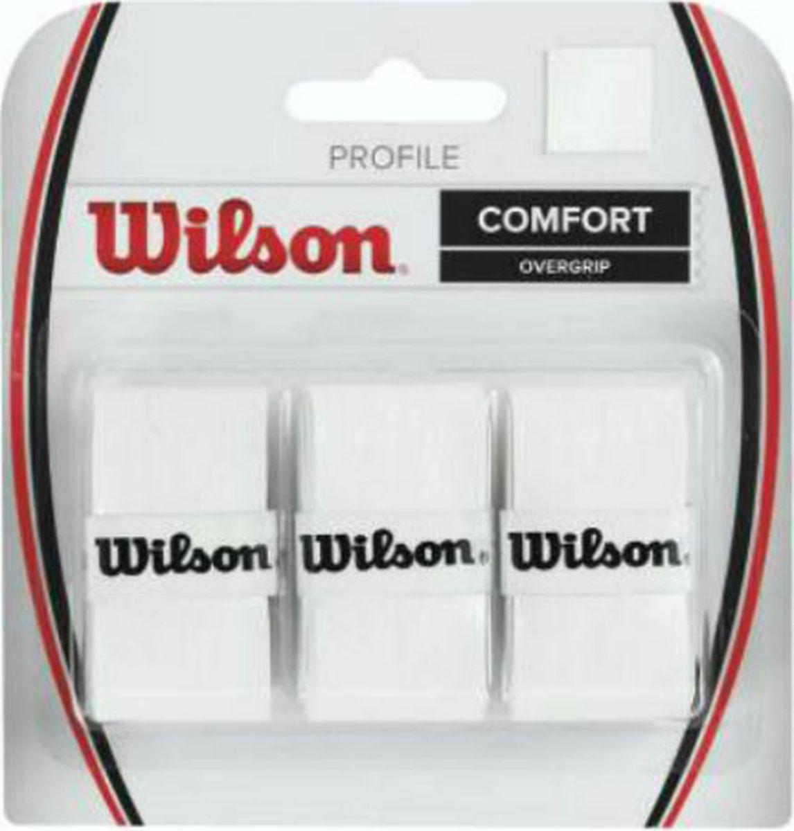 Намотка для ракетки Wilson Profile Overgrip Wh