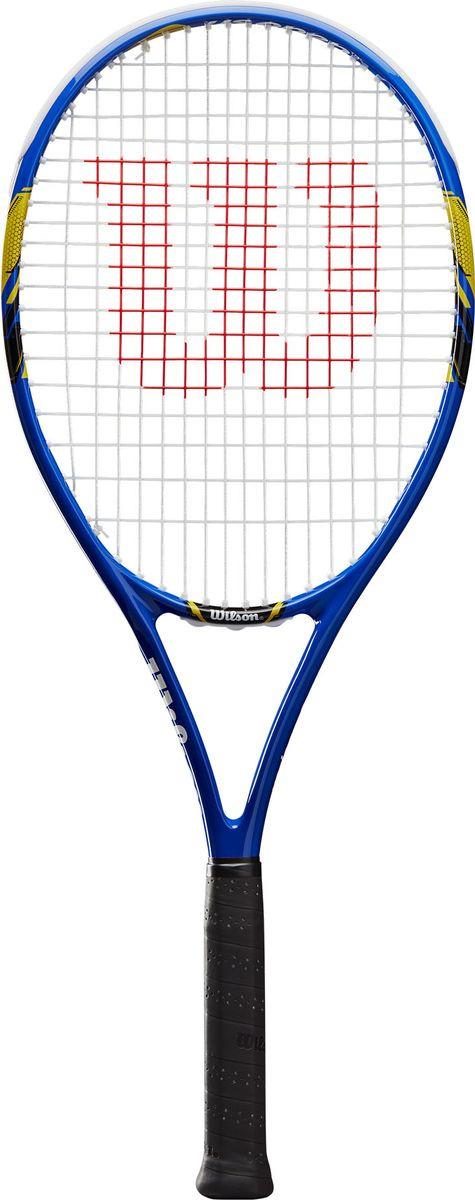 Ракетка для большого тенниса Wilson Us Open Tns Rkt W/O Cvr 3, WRT30560U3, синий, черный