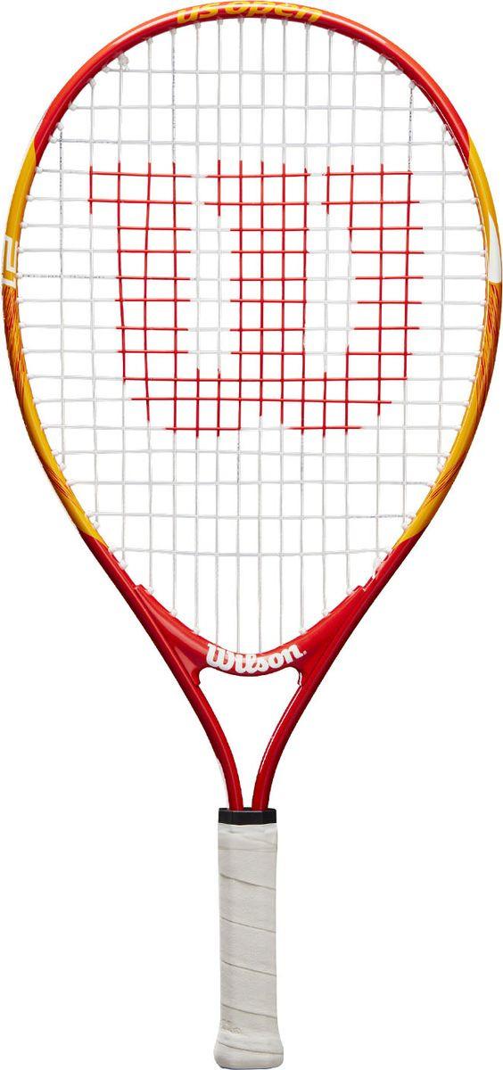 Ракетка для большого тенниса Wilson Us Open 21 Tns Rkt W/O Cvr, WRT20310U, зеленый, белый, голубой