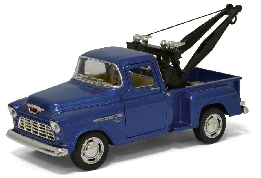 цены на Машинка металлическая с открывающимися дверями, модель 1955 Chevy Stepside Tow Truck  в интернет-магазинах