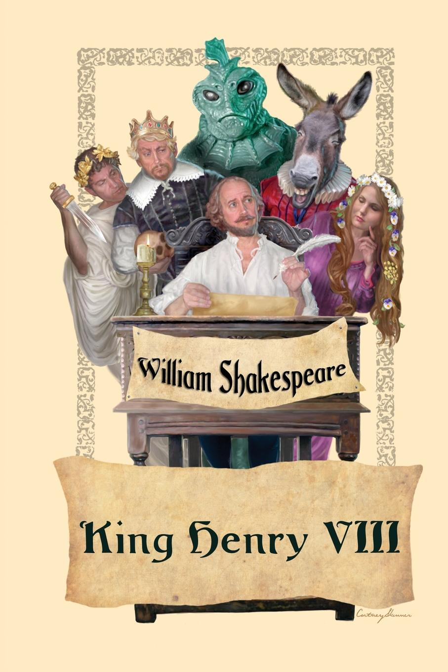 William Shakespeare King Henry VIII the corn king and the spring queen