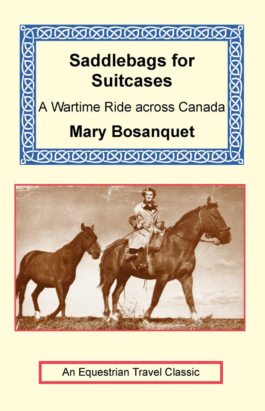 Mary Bosanquet Saddlebags for Suitcases