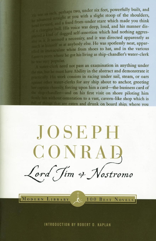 Joseph Conrad, J. Conrad Lord Jim & Nostromo
