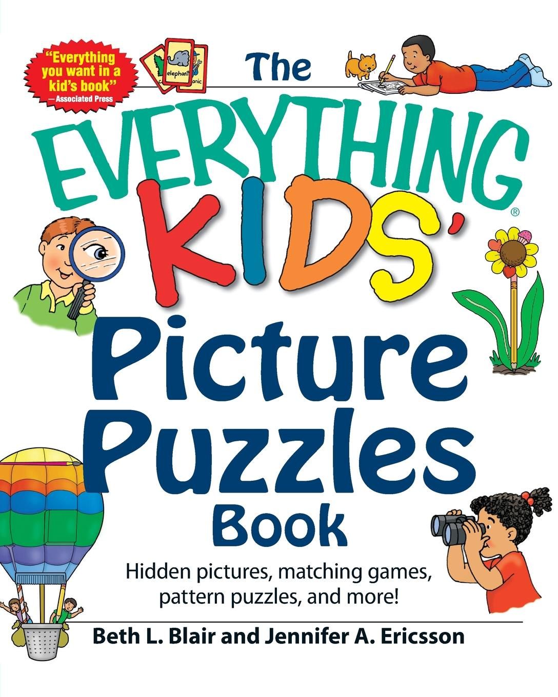 Beth L. Blair, Jennifer A. Ericsson The Everything Kids' Picture Puzzles Book great big book of pencil puzzles