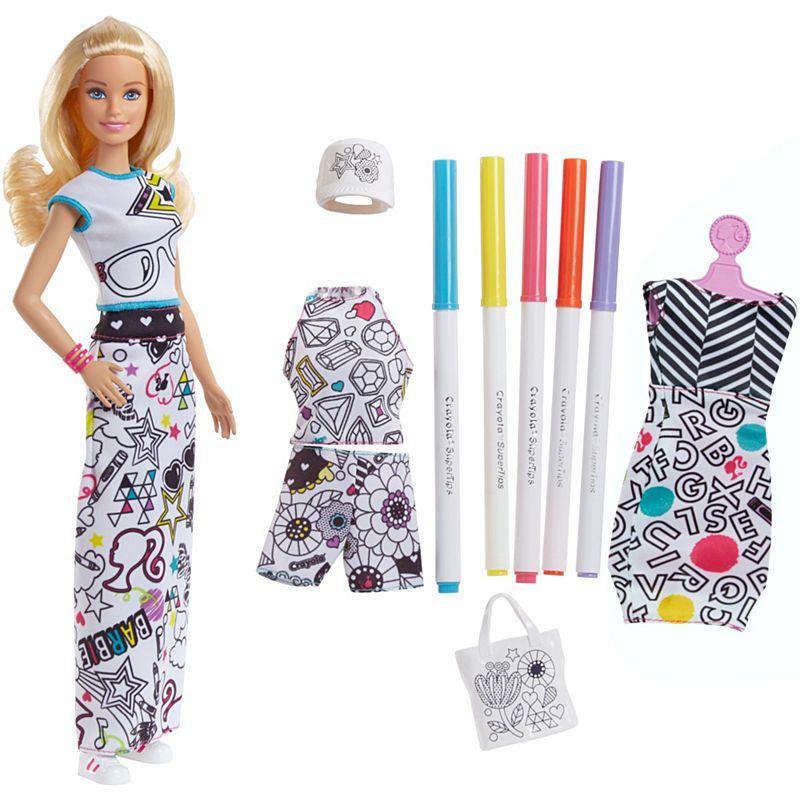 Barbie и Crayola с ароматной одеждой