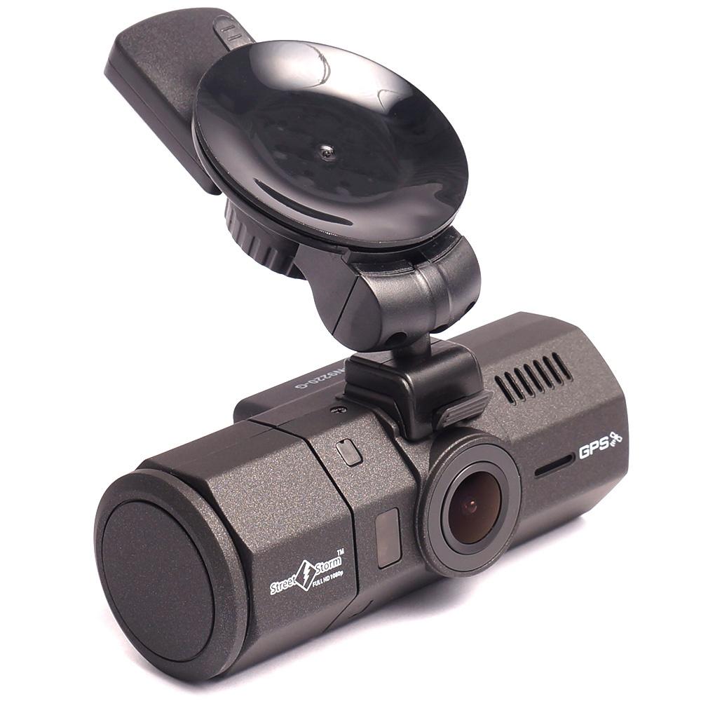 Видеорегистратор с двумя камерами и gps модулем Street Storm CVR-N9220-G street storm cvr a7510 g v 3