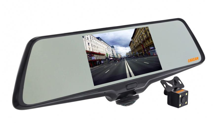 Видеорегистратор-зеркало КАРКАМ Z-360 видеорегистратор каркам carcam d3