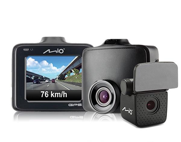 Видеорегистратор с GPS-сопровождением MiVue C380D (2-е камеры)