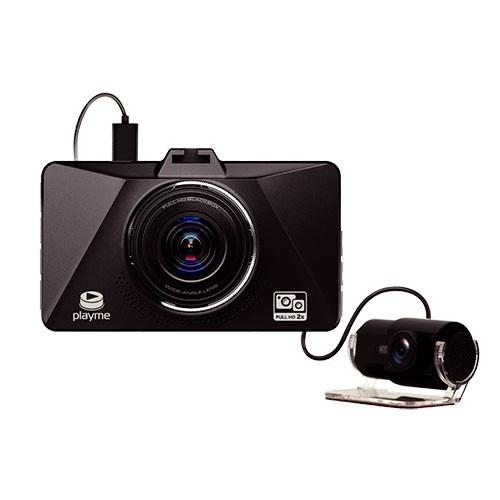 Видеорегистратор Playme Zeta (2 камеры) видеорегистратор зеркало с камерой заднего вида отзывы какой лучше