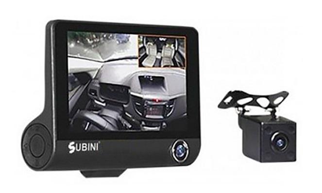 Видеорегистратор Subini GD-695RU видеорегистратор зеркало с камерой заднего вида отзывы какой лучше