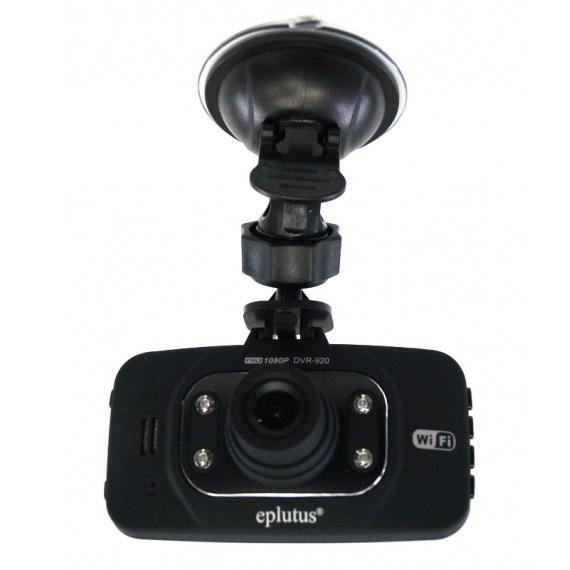 Видеорегистратор Eplutus DVR-920 Wi-Fi двухканальный видеорегистратор для мотоцикла квадроцикла снегохода full hd 1080p avel avs1010dvr