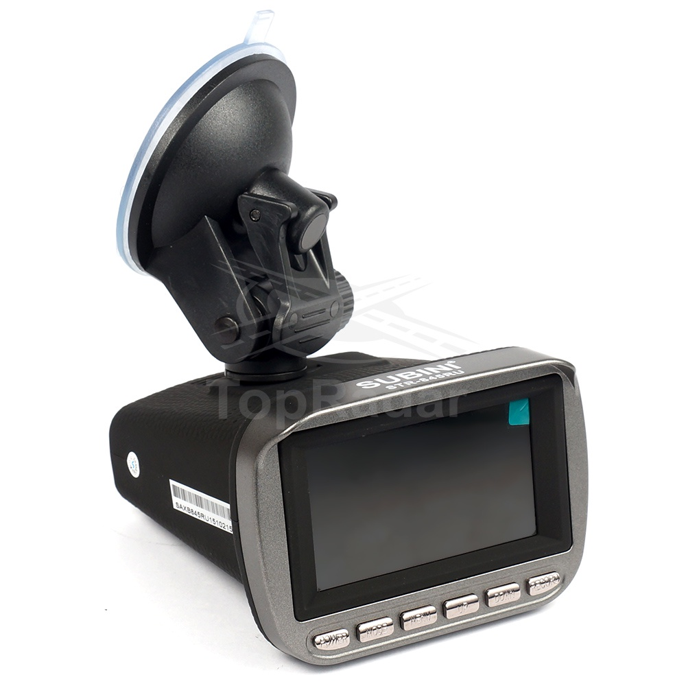 где купить Видеорегистратор с радар-детектором Subini STR-845RU GPS/ГЛОНАСС дешево