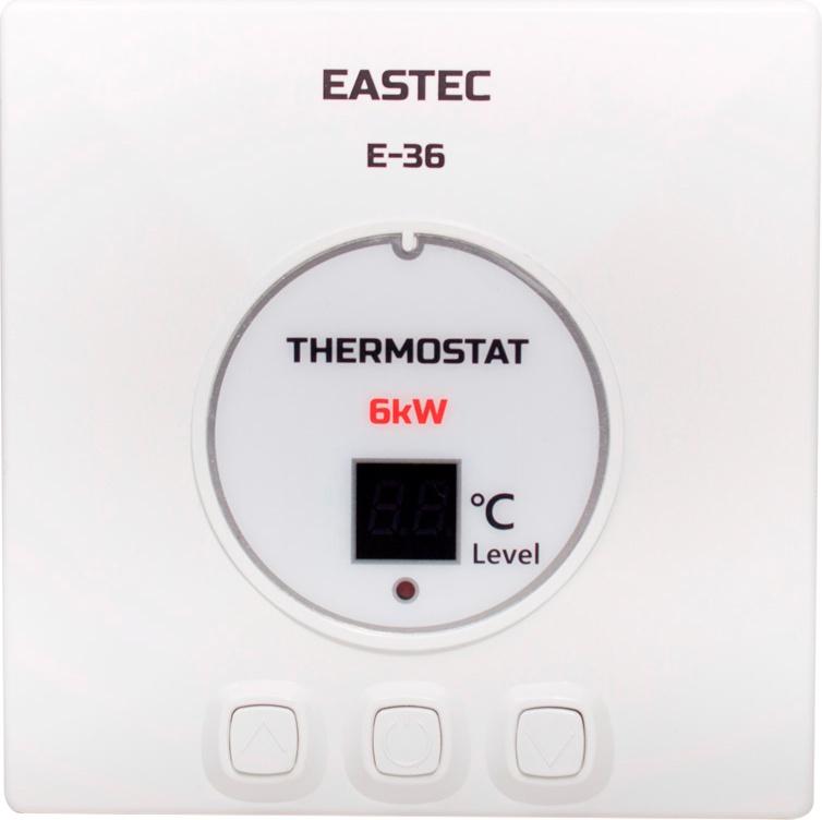 Терморегулятор EASTEC E-36 (Накладной, 6 кВт)