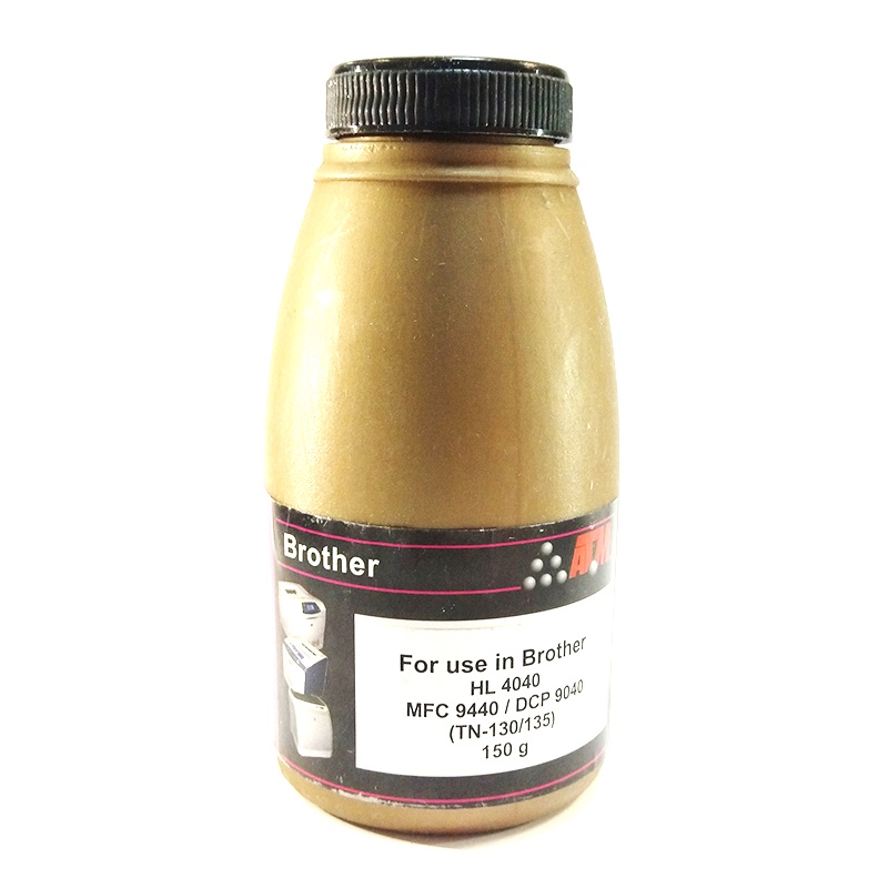 Тонер Static Control для Brother HL4040CN/4050CDN/MFC9440CN, черный, 150 г/фл.