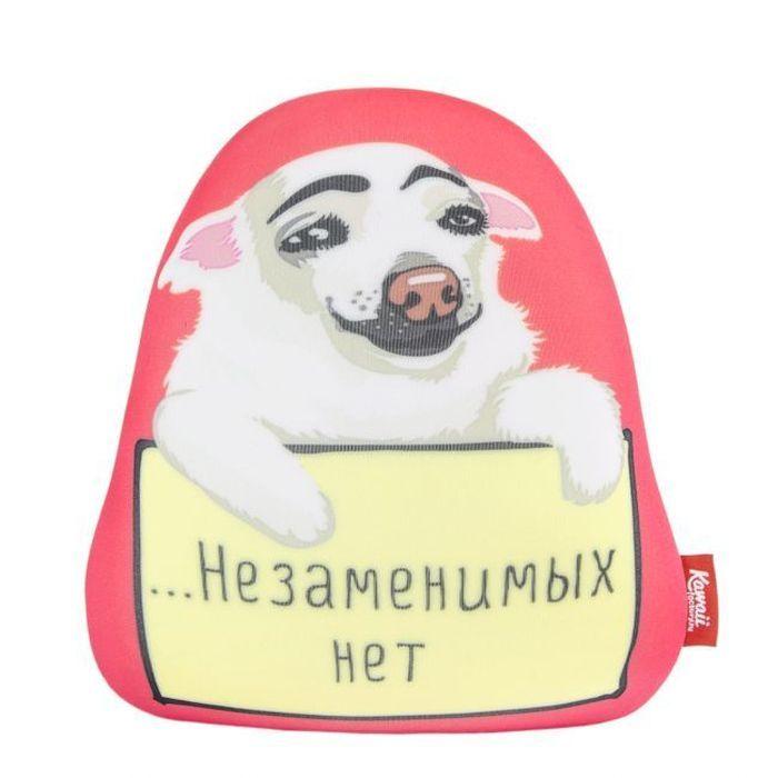 Подушка-игрушка Kawaii Factory Для неповторимых, KW178-000043 игрушка антистресс подушка megamind emoji подозрение м7131
