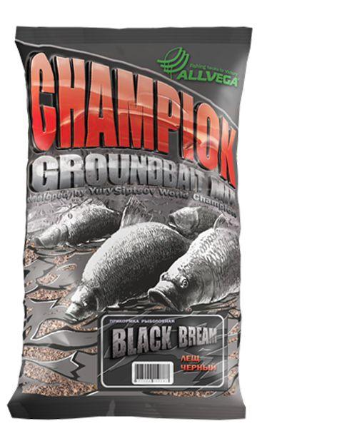 Прикормка для рыбалки Allvega Team Allvega Black Bream Черный лещ, 1 кг
