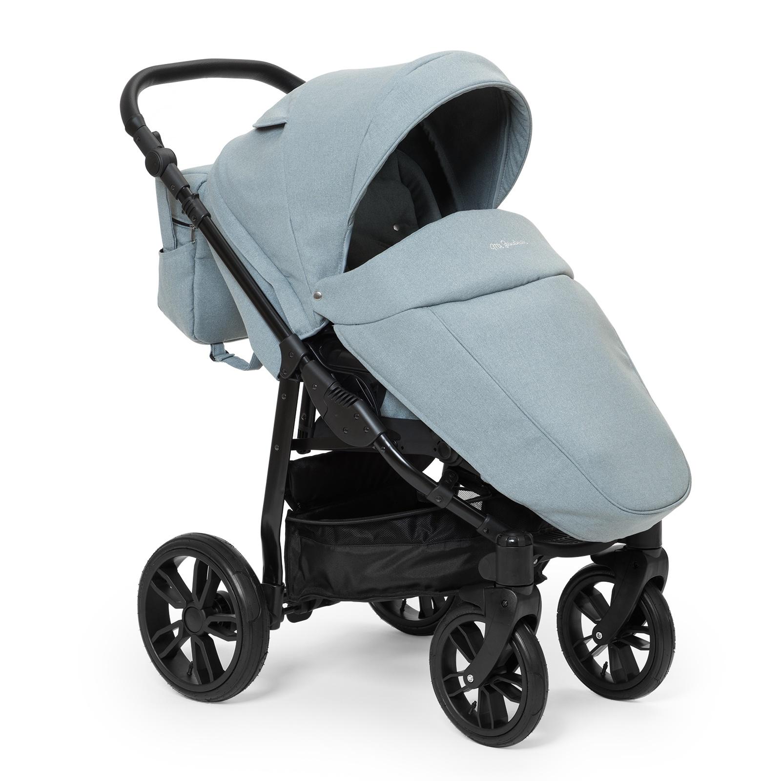 Коляска прогулочная Mr Sandman Vortex, цвет: серый коляска mr sandman vortex прогулочная фиолетовый