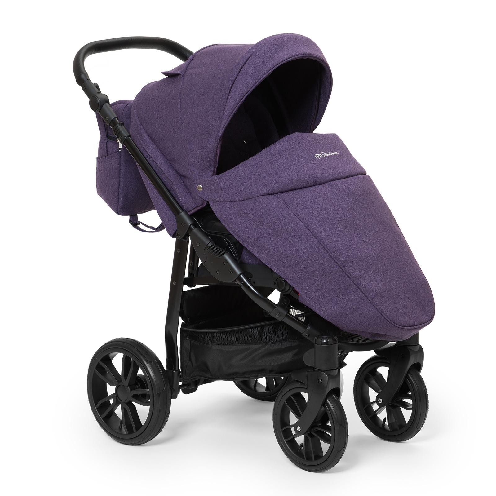 Коляска прогулочная Mr Sandman Vortex, цвет: фиолетовый коляска прогулочная mr sandman tour графит белый kmst 0552mr09