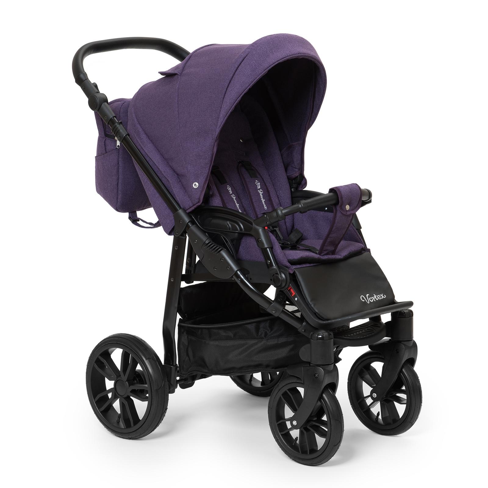 Коляска прогулочная Mr Sandman Vortex, цвет: фиолетовый