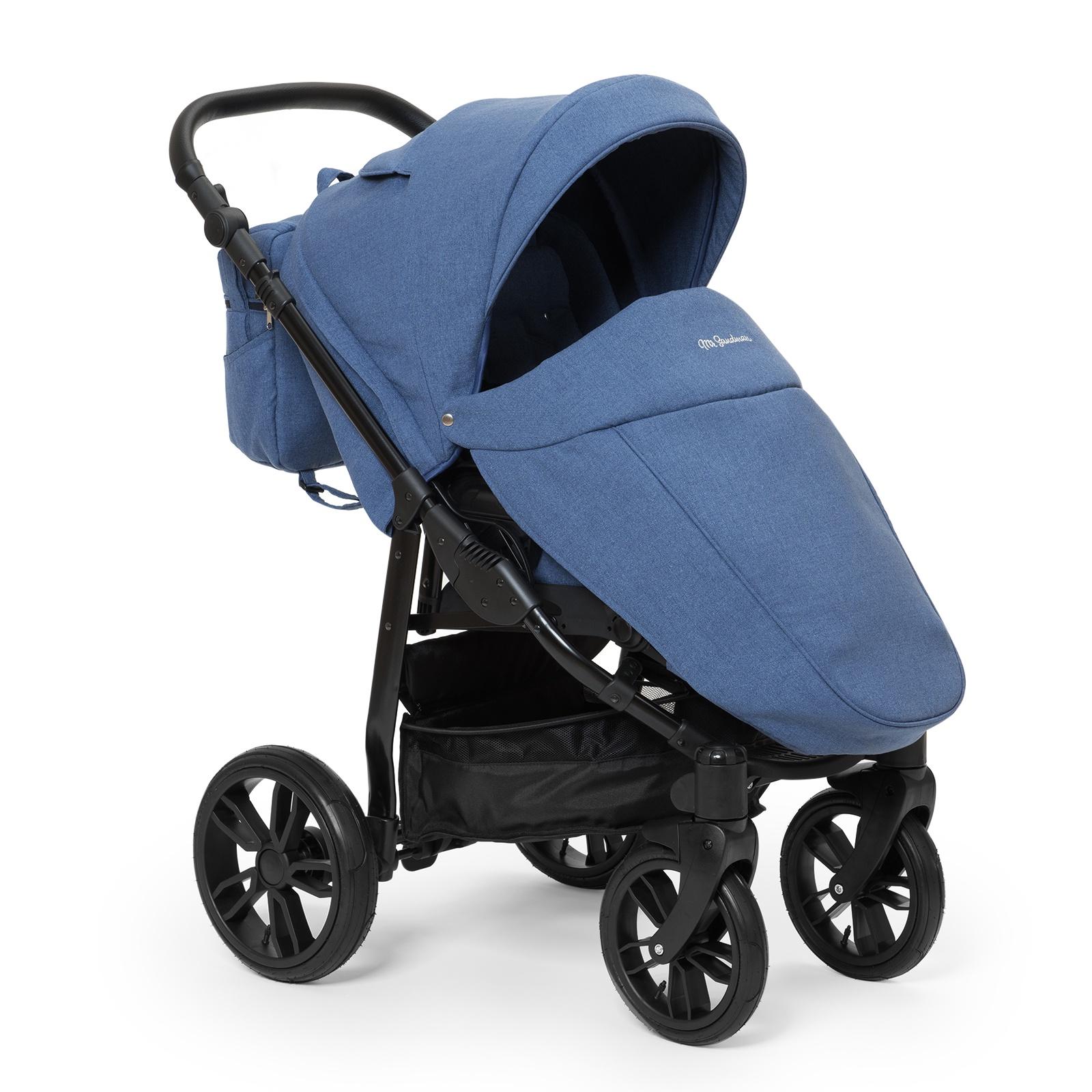 Коляска прогулочная Mr Sandman Vortex, цвет: синий коляска mr sandman guardian 2 в 1 графит серый kmsg 043601