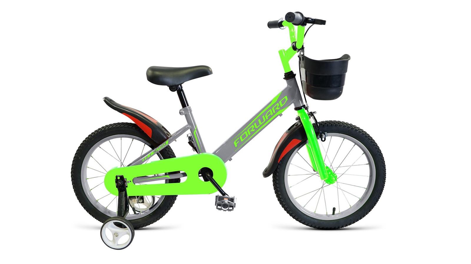 Велосипед Forward Nitro 16 2019 серый велосипед forward nitro 14 2019