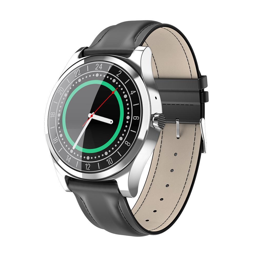 все цены на DT19 Bluetooth Hearte Rate Monitor Фитнес Tracker Часы (Silver Кожа) онлайн