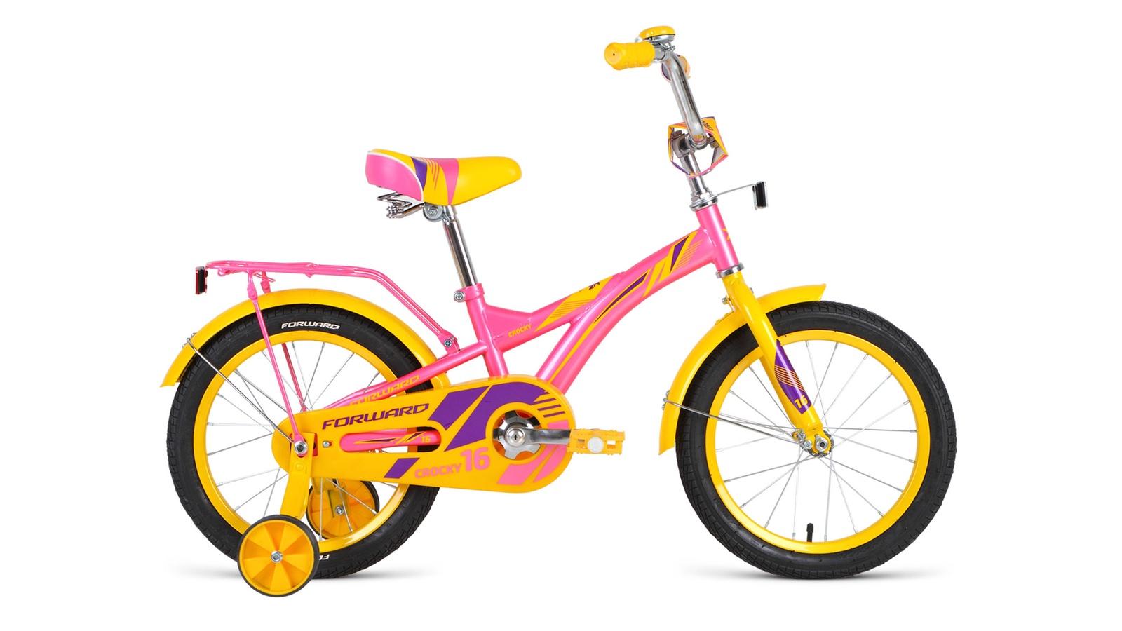 Велосипед Forward Crocky 16 2019 розовый велосипед forward yukon 1 0 2016