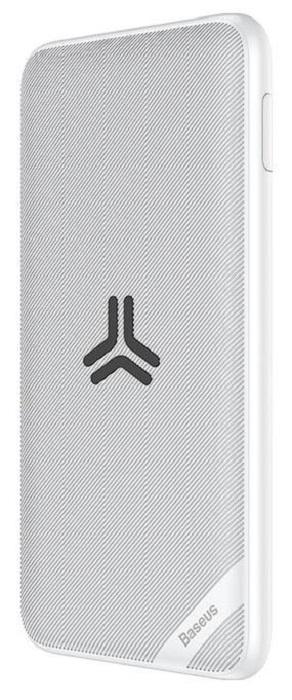 лучшая цена Внешний аккумулятор Baseus S10 Bracket Wireless Charger 10000mAh PPS10-02 White