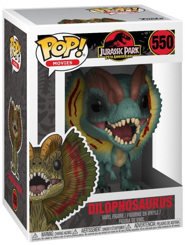 Фигурка Jurassic Park: Dilophosaurus Funko POP