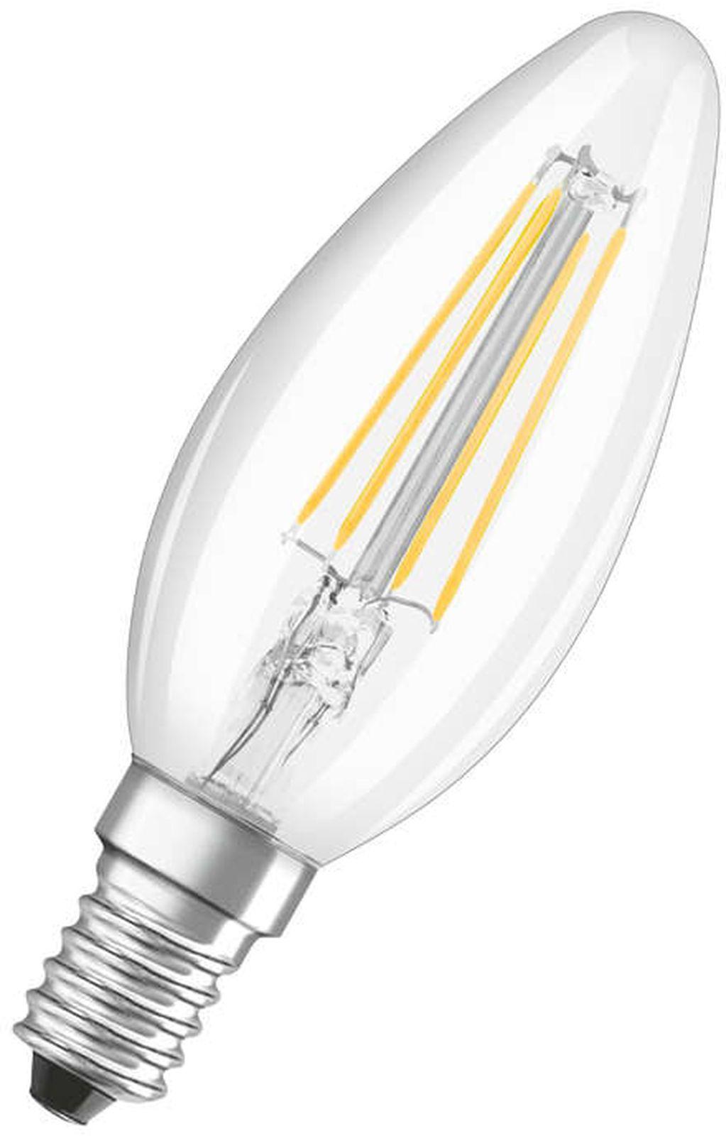 Лампочка Ledvance Osram светодиодная LSCLB6, Теплый свет 5 Вт, Светодиодная лампочка philips теплый свет 14 5 вт светодиодная