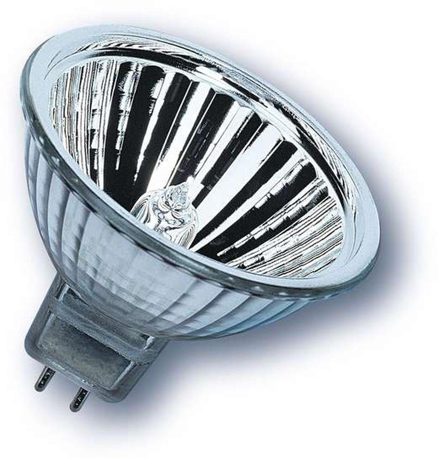 Лампочка Ledvance Osram галогенная Decostar, Теплый свет 35 Вт, Галогенная лампа галогенная osram halospot 41832 fl 35w g53 12v