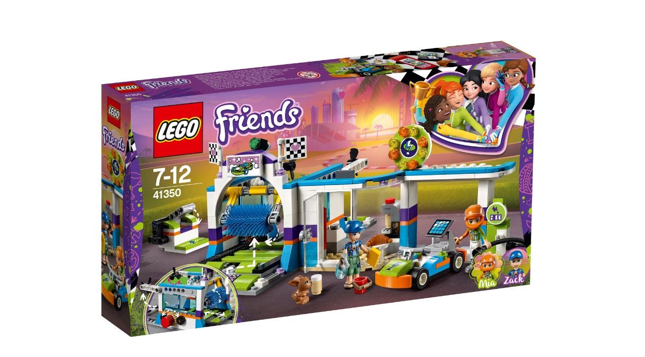 Конструктор Lego Автомойка (41350)