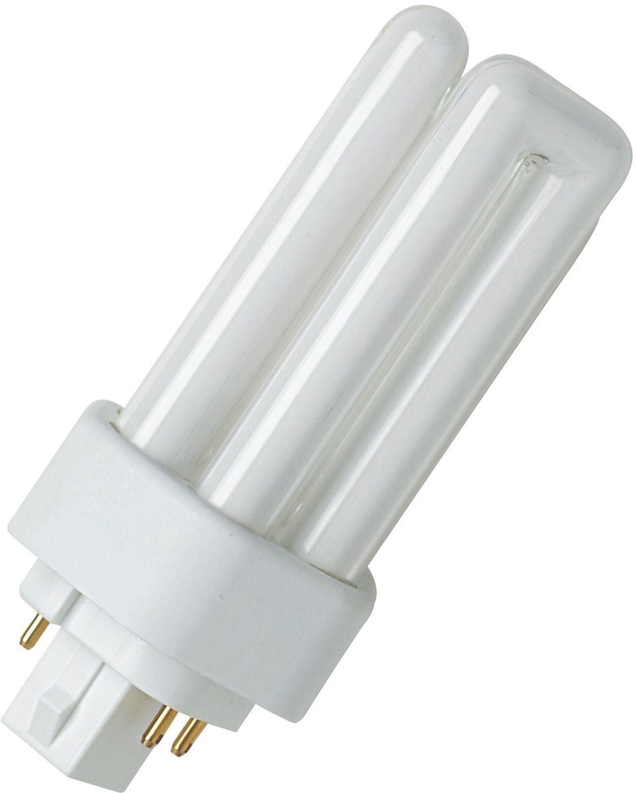 цены Лампочка Ledvance Osram люминесцентная компактная Dulux T/E, Теплый свет 42 Вт, Люминесцентная (энергосберегающая)