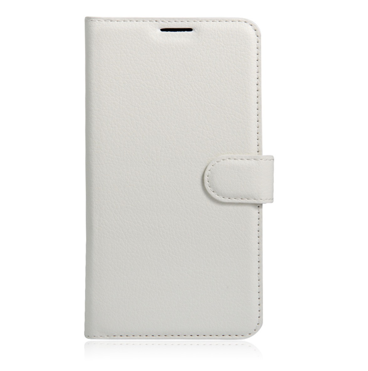 Чехол-книжка MyPads для LG Max (L Bello 2) с мульти-подставкой застёжкой и визитницей белый lg max x155